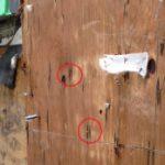 モルタル壁 雨漏り 調査事例