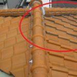 瓦屋根・雨漏りの補修  接着剤では直らないですよ!