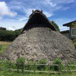 縄文時代も屋根と換気孔はありました⁉︎軒の出も⁉︎