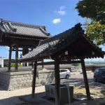 お寺の境内は瓦屋根も庭もしっかりメンテナンスされていました‼︎