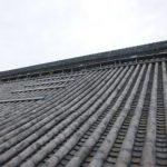 築180年の瓦屋根の雨漏り調査を行いました!しっかりと部分補修しましたよ~!! ②