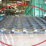 瓦の送風散水試験の写真が見つかりました!いろいろな工夫をしていましたね~!