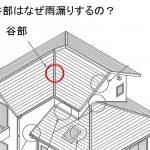 ~谷部はなぜ雨漏りするの? Q020~ 図解 屋根に関するQ&A