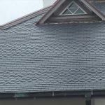 天然スレート屋根は高級感たっぷり!本物は違いますね~!