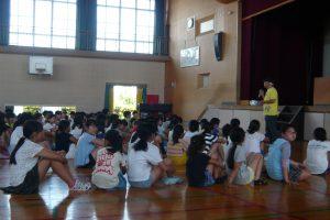 防災キャンプ 小学生も取り組んでます!!