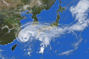 ブーメラン台風18号