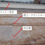 屋上防水・フラット屋根での雨漏り 原因はいろいろあるので、難解です!