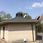 いちご狩りで気になった雨樋(あまどい)なしの屋根デザイン!