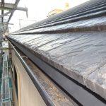 セメント屋根材の雨漏り 軒先水切り追加・部分補修事例【愛知県名古屋市】