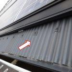 通気できる屋根一体型太陽光システムの7年目屋根点検、問題なしです!