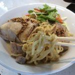 後輩のラーメン屋さんでお盆限定麺を食べてきましたよ