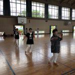 盆踊り練習会 二回目です。参加者が少なくてトホホでした