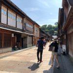 金沢の古都 黒い瓦の統一感がいい感じですね!