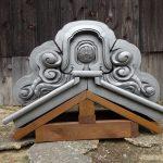 想い出の瓦屋根を葺き替え 古い鬼瓦を魔除けとしてリフレッシュするサービスをご提供!