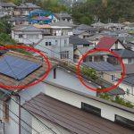 台風21号大阪屋根被害調査 太陽光パネルの飛散はありませんでした!