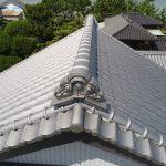 瓦屋根の葺き替え 100年前の土葺き工法から耐震工法へ【愛知県美浜町】