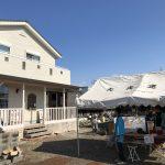 高浜市の大浅建築さんの新築内覧会にペレットストーブグリル「ペレック」で参加しましたよ