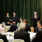 高浜市長 吉岡はつひろ後援会 役員・幹事総会が開催されました。