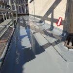 天井から雨漏り補修 ひさしの防水層再施工【愛知県豊田市】