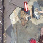 セメント屋根材雨漏り補修 急勾配・けらばからの雨漏りで野地劣化【愛知県安城市】