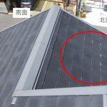 分譲地のパミール屋根 南北に違いあり。パミールの点検は全面見ましょう!