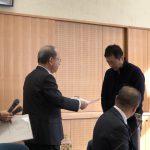 愛知県陶器瓦工業組合の役員会・全員懇談会合同会議に参加しました