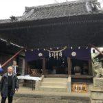 神明社(あきやさん)の豆まき祭が開催されました 旧暦の節分の前に行われました