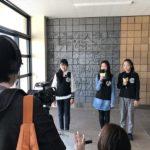 高浜小学校の新校舎を改めてKidsNowチャンネルクルーで取材しました ドローンで新旧校舎も撮影しましたよ