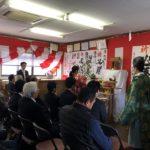 杉浦たかしげ県会議員 後援会事務所開所式が執り行われました