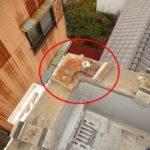 屋上からの雨漏り アルミ製笠木の雨漏り補修【愛知県海部郡】