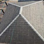パミール屋根を上から眺めた!屋根の北面が著しく劣化!【愛知県北名古屋市】