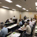 吉岡 高浜市長の「吉岡はつひろ後援会役員会」を開催しました