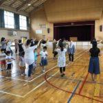 盆踊り大会の二回目の練習会です。