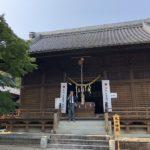 令和元年度「おまんと祭り」神馬抽選祭が行われ 神馬の町が決まりましたよ。