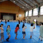 地域交流会&盆踊り大会の盆踊り練習会でした