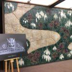 愛知県国際展示場 AICHI SKY EXPOに寄贈する鬼瓦の目録寄贈に愛知県公館にお伺いしましたよ