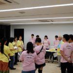 高浜の防災を考える市民の会「リーダー養成講座」で東日本大震災の被災地に研修に向かう出発式がありました