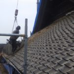 約400年前のお寺さんの瓦屋根 改修でめくりました!【愛知県知多市】