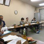 二池町町内会理事会と祭礼余興委員会の反省会でした