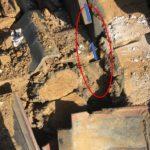 瓦屋根の棟違い部からの雨漏り 水切りを設置して補修【愛知県碧南市】