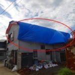 台風で屋根被害 応急処置・ブルーシート養生の注意点【慶応4年創業の屋根屋が解説】