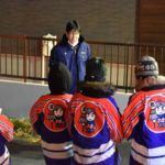 消防団とカチカチ隊による年末特別警戒夜警が開催されていましたよ