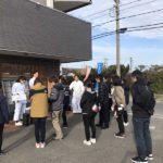 かわら割道場愛知支部からCBCテレビ「チャント」生中継でした (^o^)/