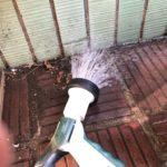 中庭タイル目地からの雨漏り調査 応急処置では止まらない【愛知県名古屋市】