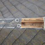 スレート屋根の棟板金の飛散事例とその対策をご紹介します。
