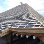 由緒ある寺院 本堂屋根の葺き替え工事 【愛知県知多市】