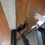 雨漏り修理に併せて、軒天材の交換を行いました。【愛知県刈谷市】