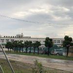 愛知県の職業訓練校である愛知県立高浜技術専門校の解体が始まりました・・・