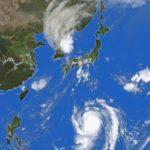 大きな台風が日本列島に接近しています ご注意ねがいます