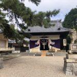 八劔社の秋の大祭・祭礼神事が執り行われました 残念ながらおまんと祭りは中止ですので静かな境内でした (+o+)